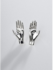 Sergio Bustamante Hand Earrings Small