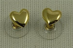 Sergio Bustamante Heart Earrings Mini