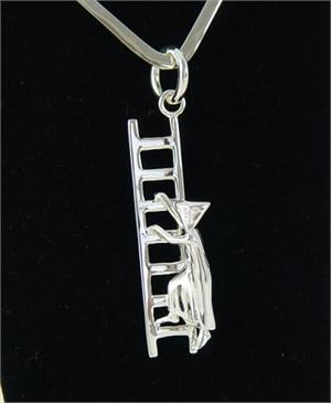 Sergio Bustamante In Search of Reason Pendant Large