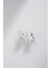 Sergio Bustamante Hand Earrings Mini