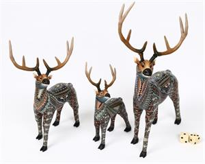 Fimo Creations by Jon Anderson Elk Papa