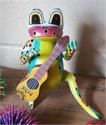 Oaxacan Frog Playing guitar